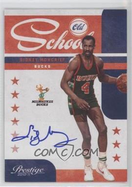 2010-11 Prestige Old School Signatures [Autographed] #14 - Sidney Moncrief /49