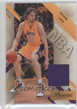 2010-11 Prestige Stars of the NBA Materials [Memorabilia] #13 - Pau Gasol /249