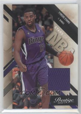 2010-11 Prestige Stars of the NBA Materials [Memorabilia] #4 - Tyreke Evans /249