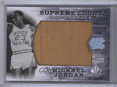 2010-11 SP Authentic - Michael Jordan Supreme Court #MJ-22 - Michael Jordan