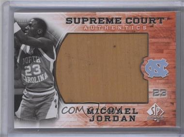 2010-11 SP Authentic Michael Jordan Supreme Court #MJ-16 - Michael Jordan