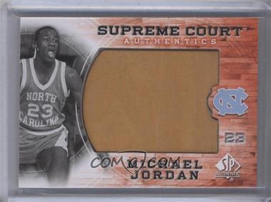 2010-11 SP Authentic Michael Jordan Supreme Court #MJ-18 - Michael Jordan