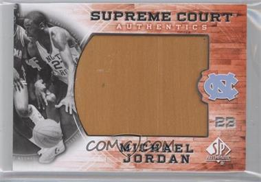 2010-11 SP Authentic Michael Jordan Supreme Court #MJ-19 - Michael Jordan