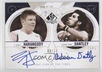 Luke Harangody, Adrian Dantley /10