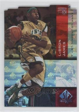 2010-11 SP Authentic Special FX #F/X-21 - Lebron James