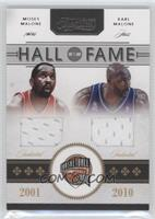 Magic Johnson, Karl Malone, Moses Malone /50