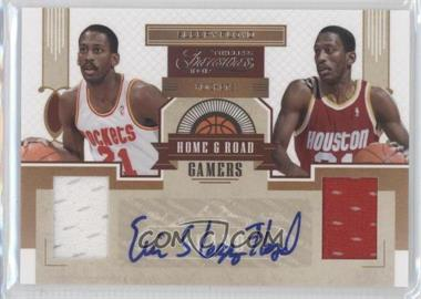 2010-11 Timeless Treasures Home & Road Gamers Signatures #6 - Sleepy Floyd /25