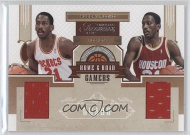 2010-11 Timeless Treasures Home & Road Gamers #6 - Sleepy Floyd /49