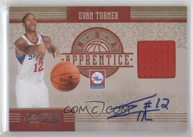 2010-11 Timeless Treasures NBA Apprentice Materials Autograph #2 - Evan Turner /50