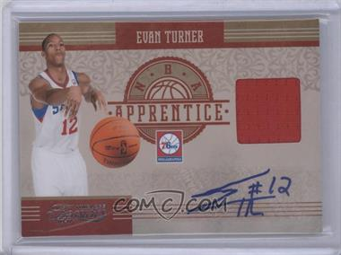 2010-11 Timeless Treasures NBA Apprentice Materials Autograph #2 - Evan Turner /50