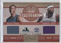 DeMarcus Cousins, Wesley Johnson /99