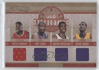 Xavier Henry, Willie Warren, Gani Lawal, Hassan Whiteside, Devin Ebanks /99