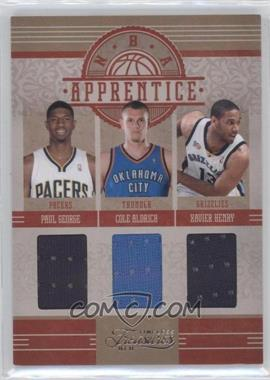 2010-11 Timeless Treasures NBA Apprentice Materials Triple #4 - Wesley Johnson, Paul George, Cole Aldrich, Xavier Henry /99