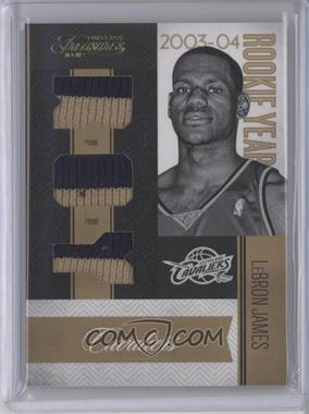 2010-11 Timeless Treasures Rookie Year Materials Rookie of the Year Prime #15 - Lebron James /25