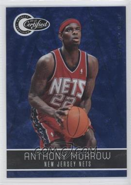 2010-11 Totally Certified - [Base] - Totally Blue #88 - Anthony Morrow /299