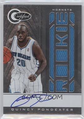 2010-11 Totally Certified - [Base] #153 - Quincy Pondexter /585