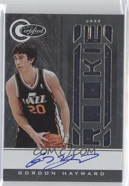 2010-11 Totally Certified - [Base] #154 - Gordon Hayward /579