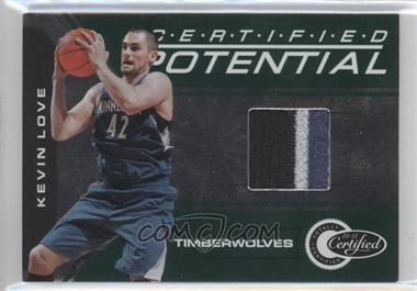2010-11 Totally Certified Certified Potential Green Jerseys Prime [Memorabilia] #8 - Kevin Love /5