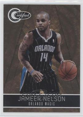 2010-11 Totally Certified Totally Gold #76 - Jameer Nelson /25
