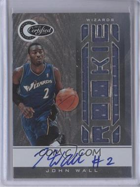 2010-11 Totally Certified #151 - John Wall /599