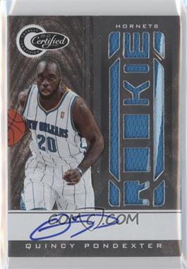 2010-11 Totally Certified #153 - Quincy Pondexter /585