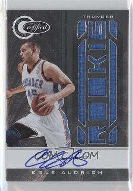 2010-11 Totally Certified #162 - Cole Aldrich /599