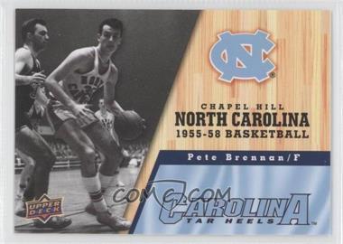 2010-11 UD North Carolina Basketball #11 - Pete Brennan