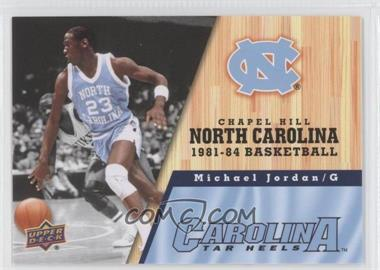 2010-11 UD North Carolina Basketball #43 - Michael Jordan