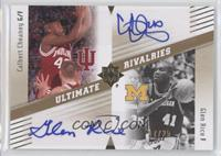 Calbert Cheaney, Glen Rice /25