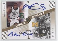 Glen Rice, Mateen Cleaves /25