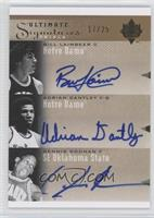 Bill Laimbeer, Adrian Dantley, Derrick Rose /25