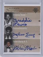 Freddie Lewis, Julius Erving, Moses Malone /25
