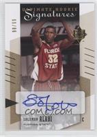 Rookie Signatures - Solomon Alabi /99