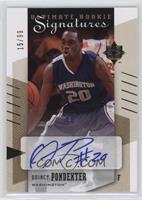 Rookie Signatures - Quincy Pondexter /99