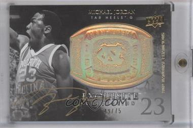 2011-12 Exquisite Collection - Championship Bling - Gold Spectrum #CB-JO - Michael Jordan /75