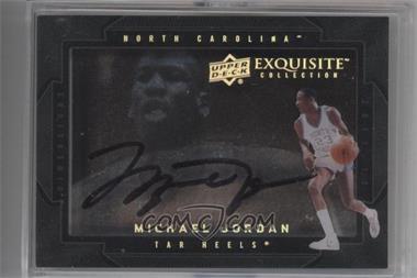 2011-12 Exquisite Collection - Dimensions #D-MJ - Michael Jordan