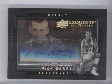 2011-12 Exquisite Collection - Dimensions #D-RB - Rick Barry