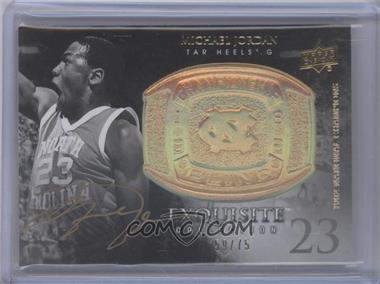 2011-12 Exquisite Collection Championship Bling Gold Spectrum #CB-JO - Michael Jordan /75