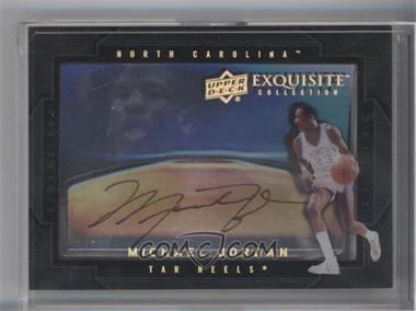 2011-12 Exquisite Collection Dimensions #D-MJ - Michael Jordan