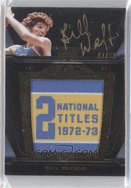 2011-12 Exquisite Collection UD Black College Vault Auto #V-BW - Bill Walton /60