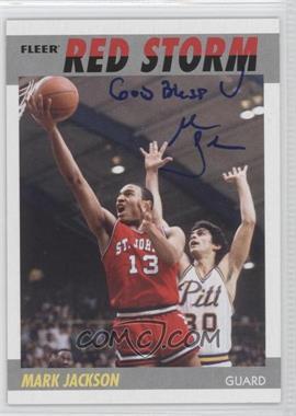 2011-12 Fleer Retro - 1987-88 Design - Autographs [Autographed] #87-MJ - Mark Jackson