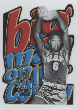 2011-12 Fleer Retro - Big Men on Court #5 - Bill Russell
