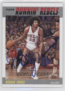2011-12 Fleer Retro 1987-88 Design Autographs [Autographed] #87-RT - Reggie Theus