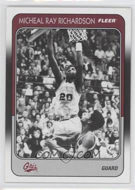 2011-12 Fleer Retro 1988-89 Design #88-MR - Micheal Ray Richardson