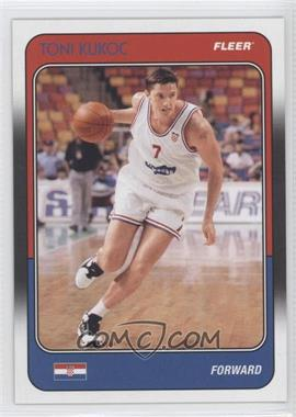 2011-12 Fleer Retro 1988-89 Design #88-TK - Toni Kukoc