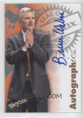2011-12 Fleer Retro 1997-98 Autographics Design Autographs #97AU-BW - Bruce Weber
