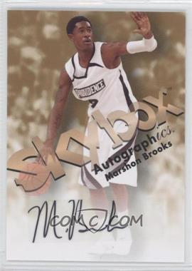 2011-12 Fleer Retro 1998-99 Autographics Design Autographs [Autographed] #98AU-MB - MarShon Brooks