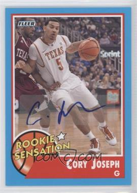 2011-12 Fleer Retro Autographs [Autographed] #69 - Cory Joseph