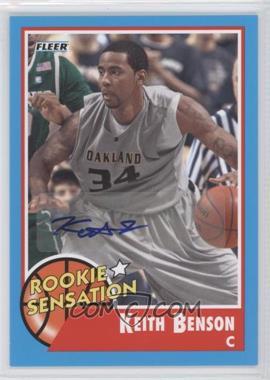 2011-12 Fleer Retro Autographs [Autographed] #79 - Keith Benson