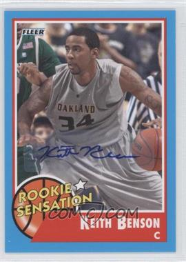 2011-12 Fleer Retro Autographs [Autographed] #79 - Keith Benson